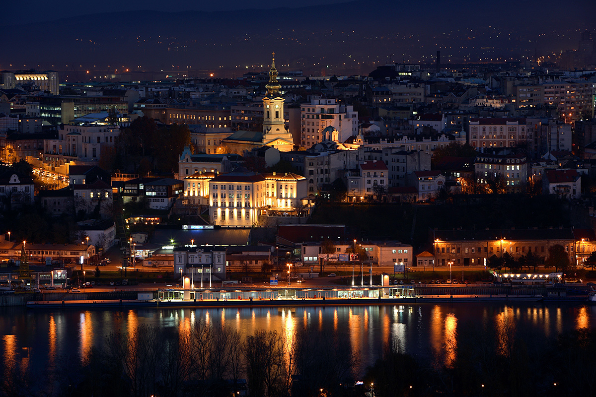 A night in Belgrade